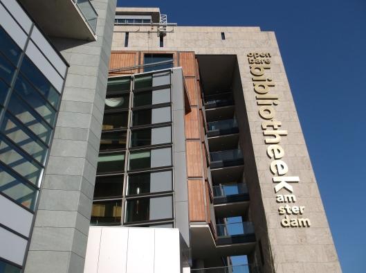 Bangunan Librari Awam Amsterdam.